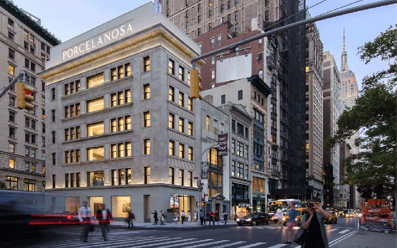 Foster's Porcelanosa showroom in New York is now Open
