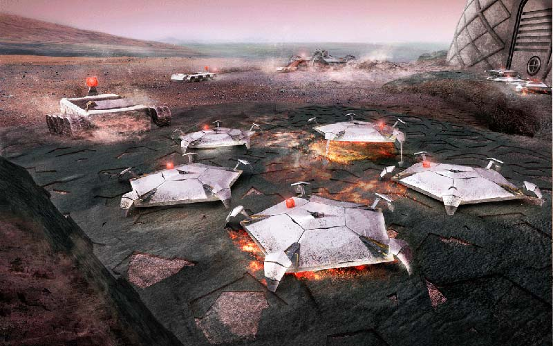 Foster + Partners New York is one of 30 finalists in Mars Habitat design competition