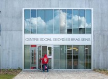 George Brassens Social center / NOMADE Architects