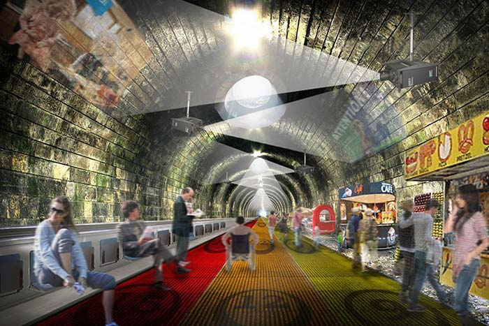 Replace entire Circle Line with a travelator: Architecture firm's vision