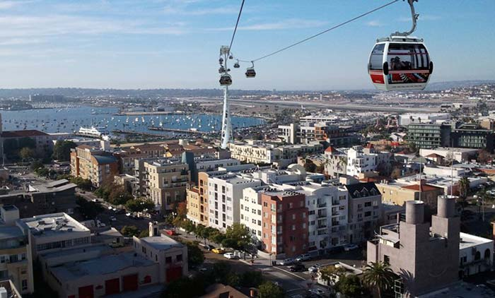 San Diego Travel: Trains, lanes, bikes and gondolas