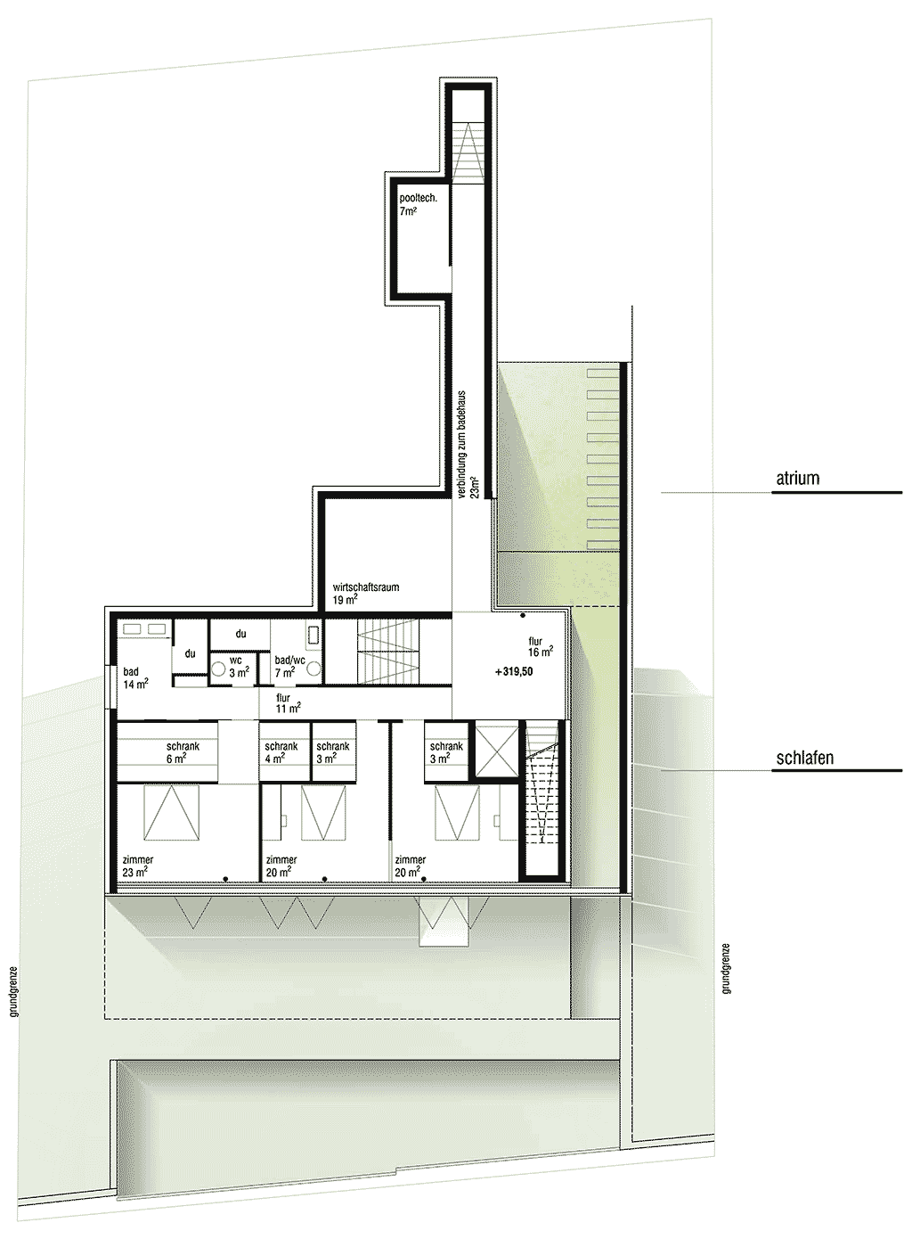 Second floor plan architecture lab for Gt issa floor plans