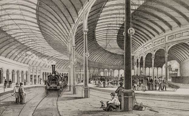 The beautiful stations of rail's golden age