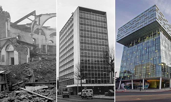 Blitzed, rebuilt and built again: what became of London's bomb sites?