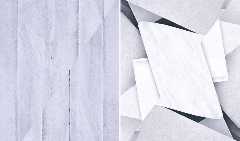 Sara VanDerBeek Explores Baltimore's Architecture Through Marble