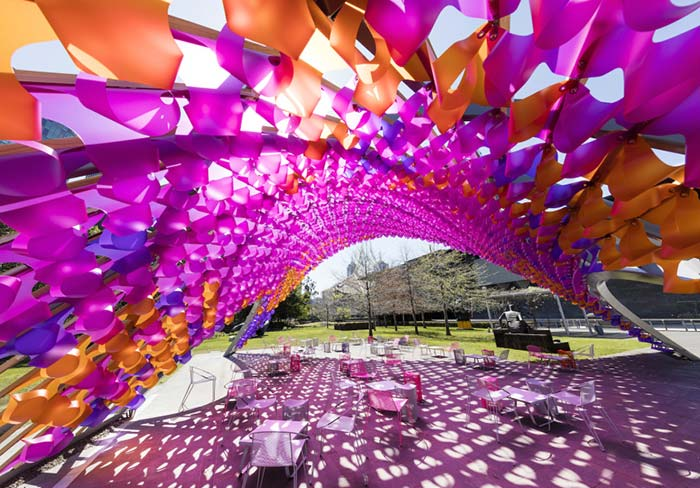 Architecture Blooms in Melbourne's NGV Gardens