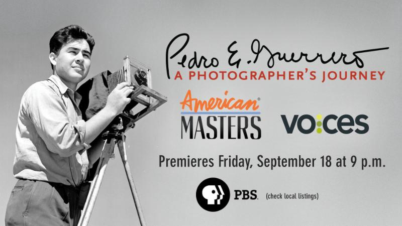PBS's presents Pedro E. Guerrero: A Photographer's Journey
