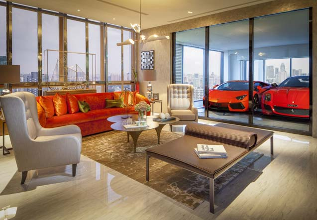 Singapore's 'sky garage' looks to drive luxury demand