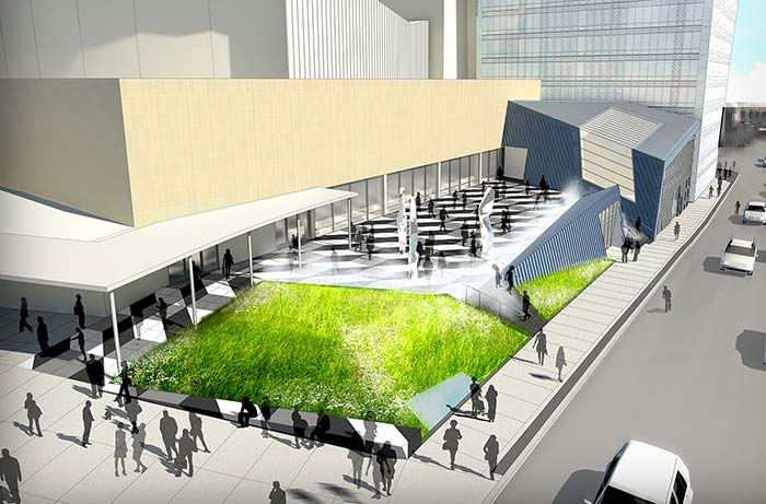 Plaza at Toronto's Yonge and Front will offer new way