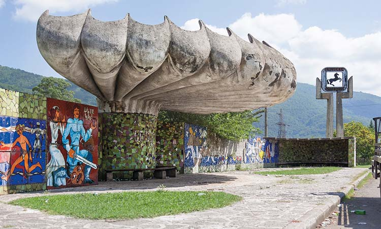 Why Russia has the world's most beautiful bus stops