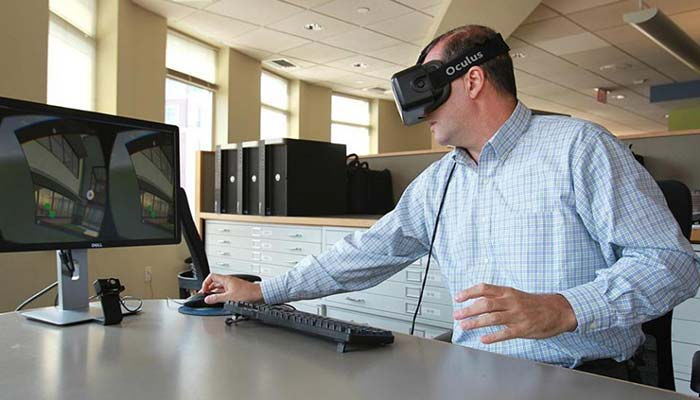 Architecture firm turns to virtual reality to show off building designs