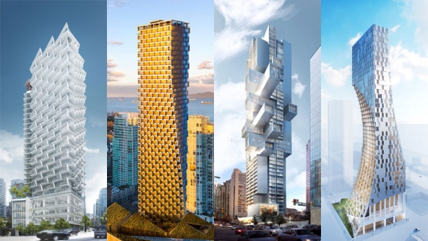 Vancouver new condo towers aim to give the city the 'Wow!' factor