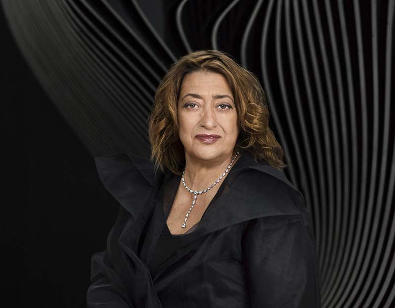 Zaha Hadid receives the 2016 Royal Gold Medal
