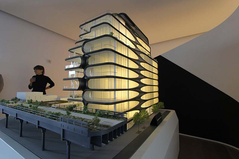 Zaha hadid launches sales at her high line condos for Condominium for sale in nyc