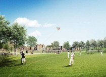 C.F. Møller Landscape designs new park for London