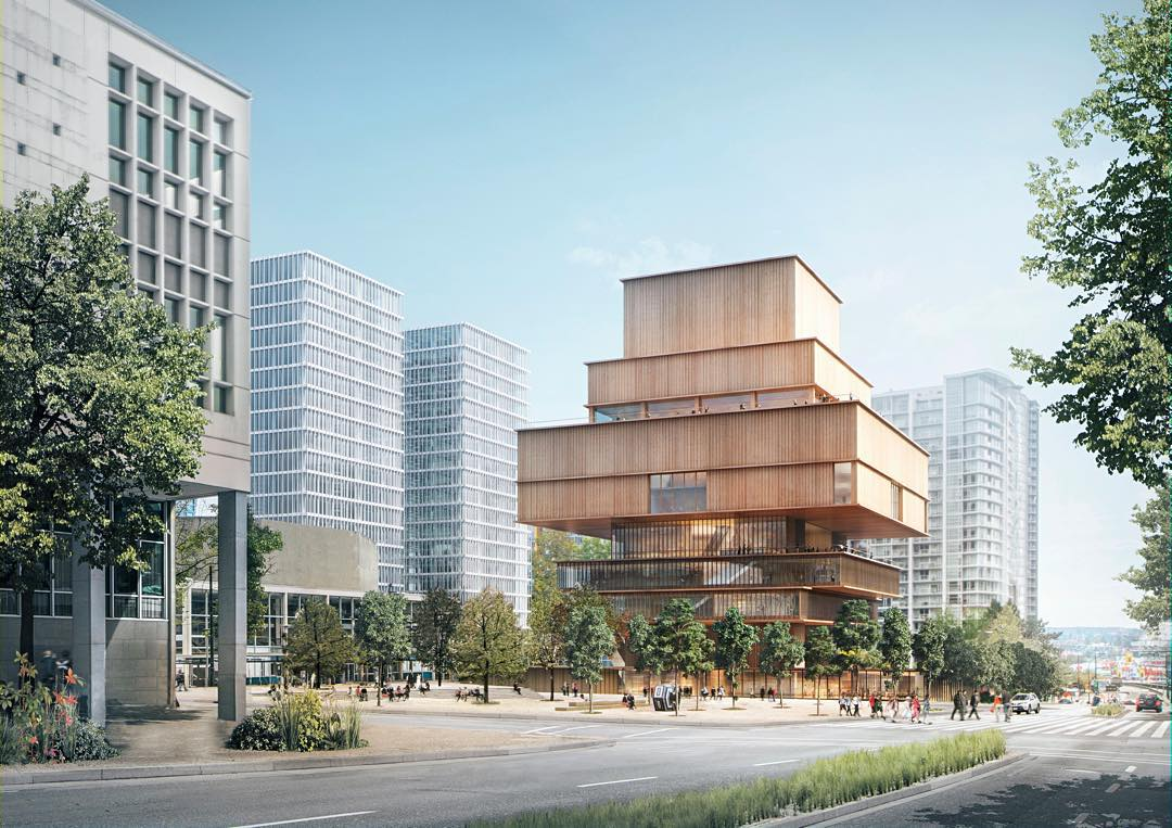 VAG design proposal will change the way Vancouver thinks about its architecture