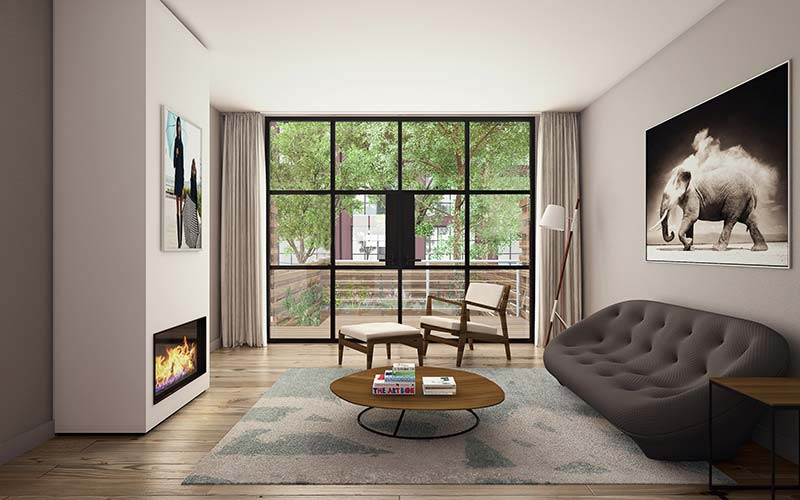 AA Studio reimagines the typology of the New York townhome in Red Hook, Brooklyn