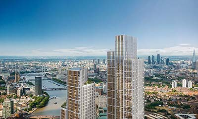 'It's an insult': Chinese property developers race to the top of London's skyline