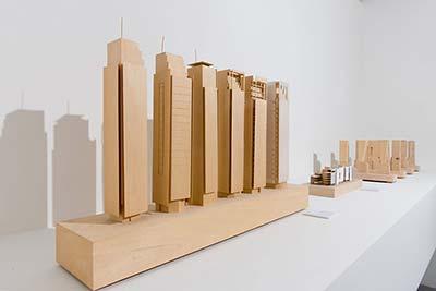 Process and Vision - Richard Meier's architectural projects, exhibited at the MANA Contemporary