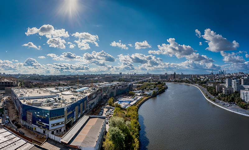 Moscow's historic industrial zone soon to receive modern lifestyle center