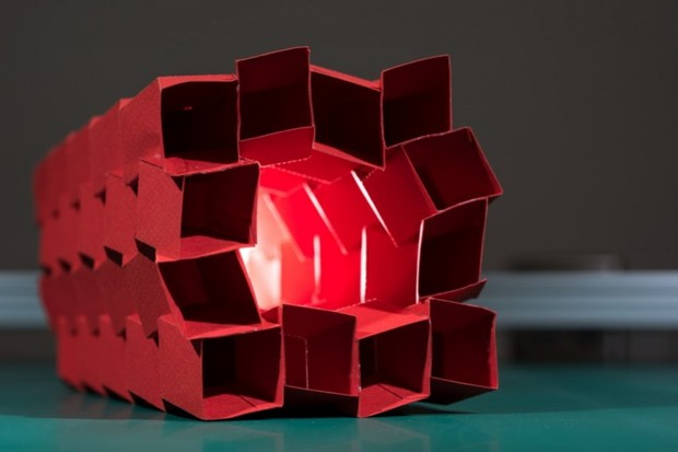 "Origami ""Zippered Tube"" Prototypes Offer New Structural Options"