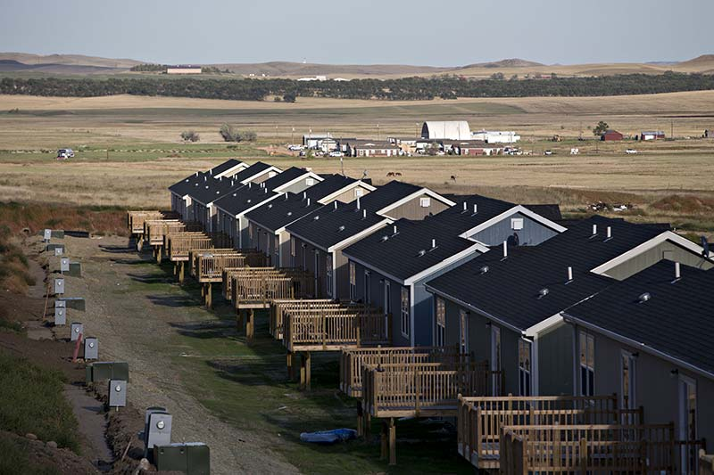 The Real Estate Crisis in North Dakota's Man Camps
