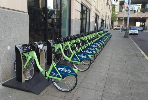 Seattle to expand their sharing bike system