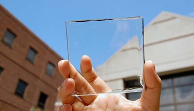 First entirely transparent solar panel could transform our cities