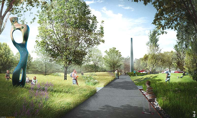 Civitas Park Plan for North Carolina Museum of Art Breaks Ground