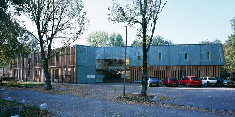048 Thatch building - Daycare centre Willem Felsoord / Möhn + Bouman architekten
