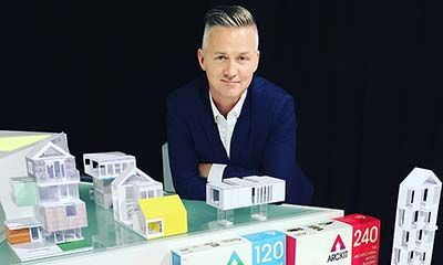 A design for life: architect's modelling kits plug a gap in the market