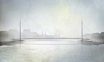 Public fury as new bridge across the Thames announced at Nine Elms