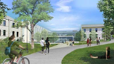 Kansas State University's College of Architecture, Planning & Design is getting a major upgrade