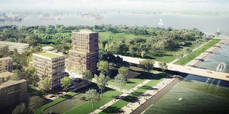 Construction of Blocks 1a & 1b on Zeeburger Island starts