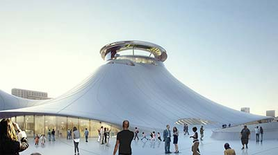 Design for George Lucas Museum of Narrative Art is finally approved