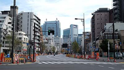 Tokyo is trying to transform this boulevard into its own Champs-Élysées