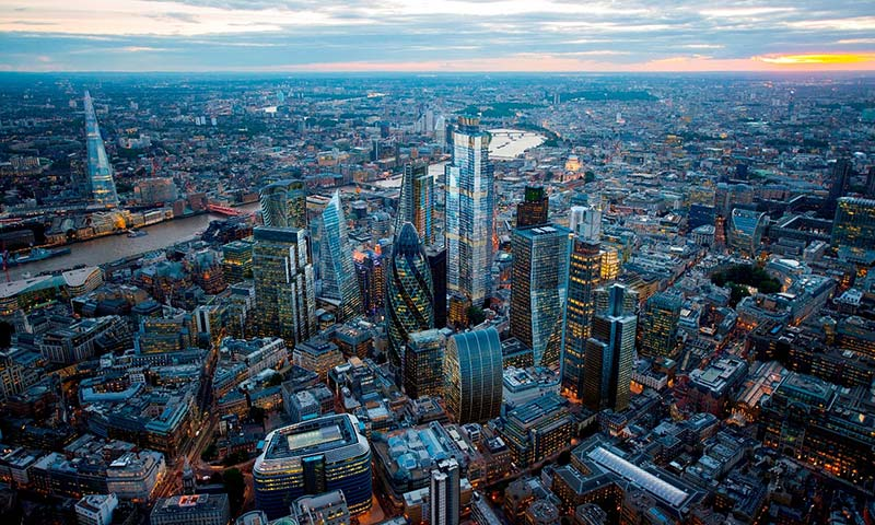 Is the only way up for London's skyline?