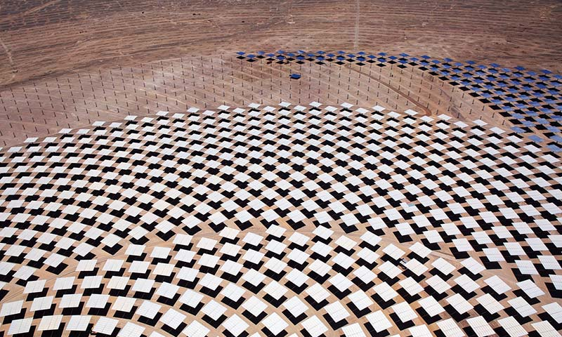 Desert tower raises Chile's solar power ambition to new heights