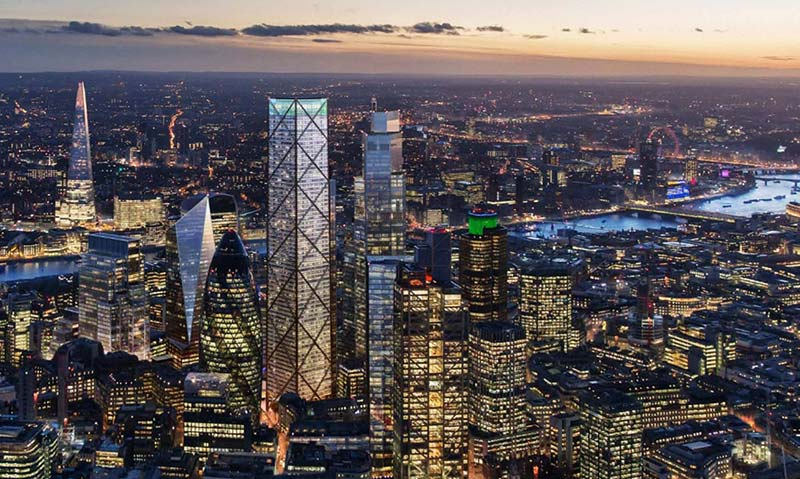 1 Undershaft, the tallest skyscraper in the City of London, revealed