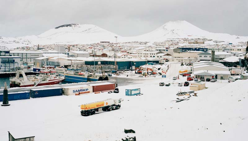 The little icelandic town that survived an epic lava flow