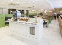 Jump Studios refurbishes new staff restaurant at Fortnum & Mason, London