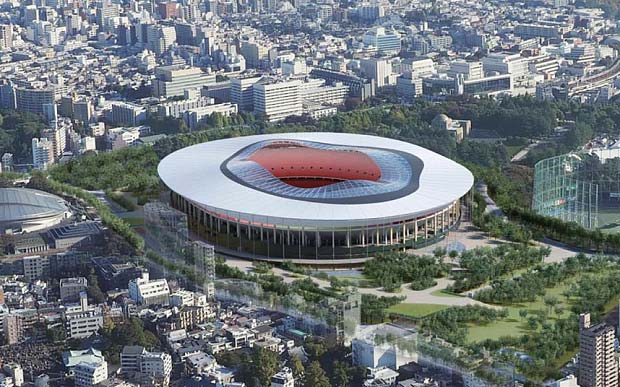 Tokyo unveils design proposals for new Olympic Stadium after dropping British architect