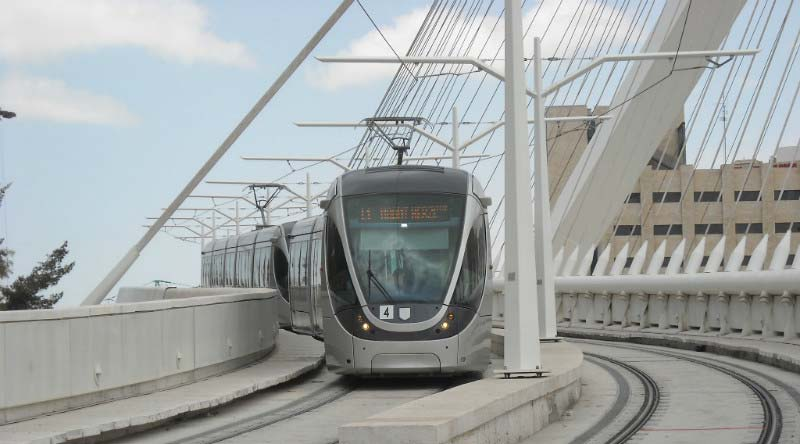 Can Jerusalem's light rail pull the city's past into the future?