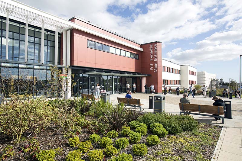 Swansea's Morriston Hospital's £60m outpatient department officially opens