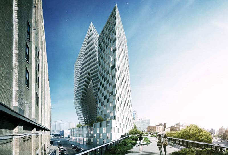 HFZ to replace BIG's hotel plan with office at Chelsea megaproject