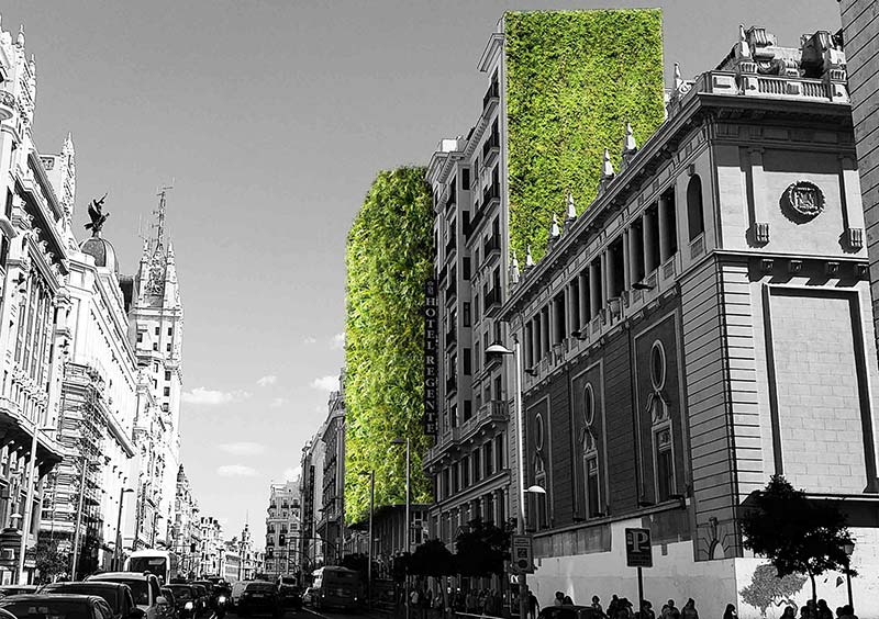 Arup reveals its vision for a greener Madrid
