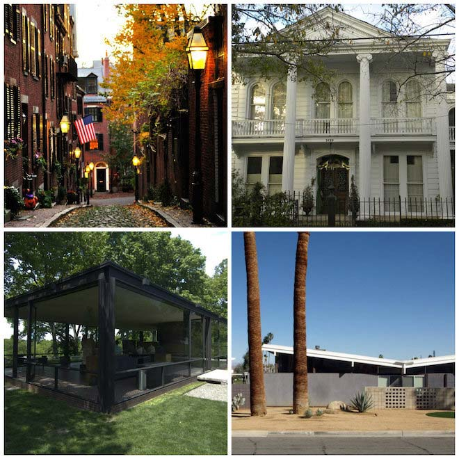 The neighborhoods that influenced US architecture