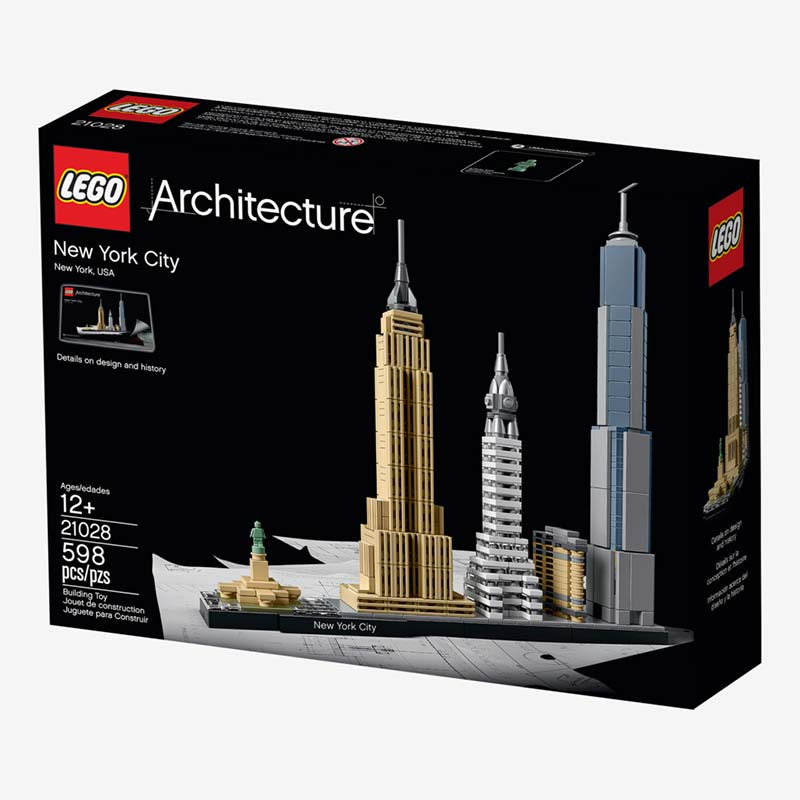 Lego's new kits let you recreate skylines like NYC's