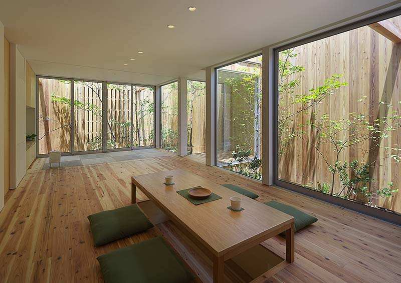 House in Nishimikuni / arbol