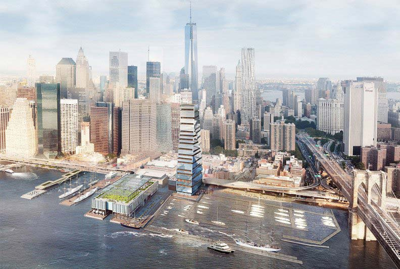 SHoP controversial seaport tower cancelled